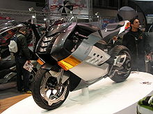 The Electric Superbike On Display At Eicma 2007 In Milan