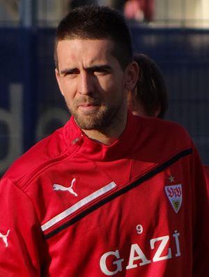 Vedad Ibišević - Ibišević with VfB Stuttgart in 2012