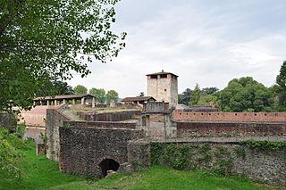 14th-century castle in Pistoia, Tuscany, Italy