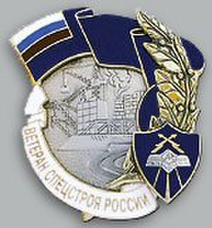 Awards and emblems of the Ministry of Defence of the Russian Federation - Type 2