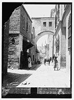 Via Dolorosa (Ecce Homo Arch), Jerusalem. LOC matpc.04875.jpg