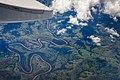 Viagem para Foz do Iguaçú - Trip to Foz do Iguaçu - Vista aérea do Rio Iguaçú - Aerial view of Iguaçu river (12308685485).jpg
