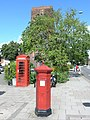 Victorian post box in front of Shrewsbury Abbey - geograph.org.uk - 488128.jpg