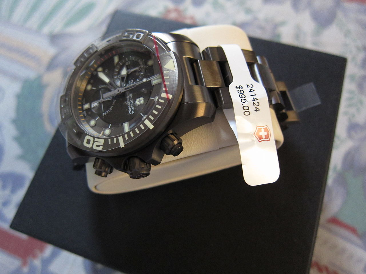 Swiss Army Watch Red Ring