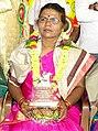 Vidushi Shashikala Dani honoured with 'Rani Chennamma' award.jpg