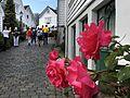 Viele Blumen schmücken im Sommer die Altstadt von Stavanger. 01.jpg