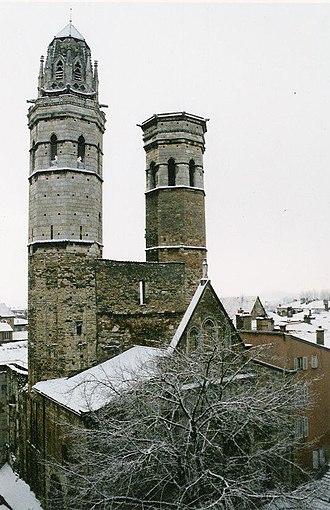 Mâcon - Mâcon Cathedral (Cathédrale le Vieux Saint-Vincent)