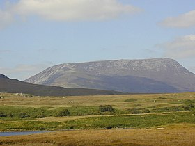 View across Lough Nadourcon to Muckish Mountain - geograph.org.uk - 431488.jpg