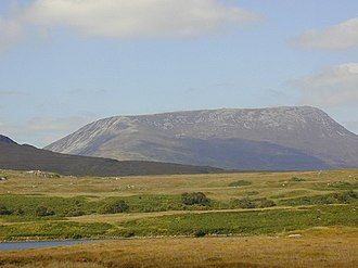 Muckish - Image: View across Lough Nadourcon to Muckish Mountain geograph.org.uk 431488