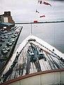 View from the bridge of HMY Britannia - geograph.org.uk - 902906.jpg