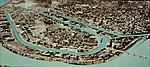 View of Downtown Holyoke, with Canal System highlighted.jpg
