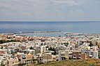 View of Rethymno with harbour in Crete 001.jpg
