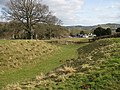 View of the village from the earthworks - geograph.org.uk - 1173223.jpg