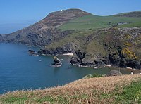 Welsh coast: Llangranog, Ceredigion, by Jayne Toyne, geograph.org.uk (Creative Commons)