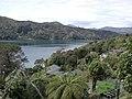 View over Lochmara Lodge in Queen Charlotte Sound.jpg