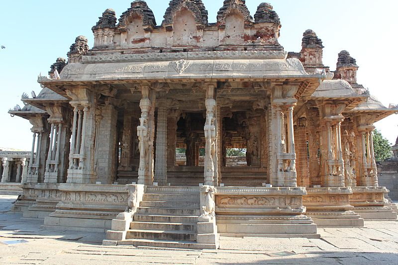 File:Vijaya Vittala temple Premises-5, Hampi.jpg