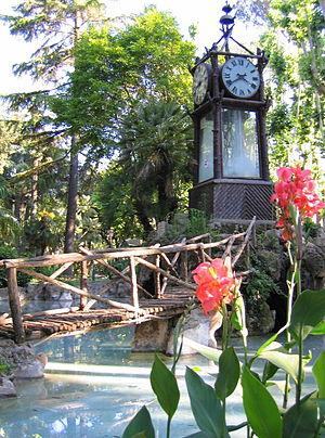 Villa Borghese gardens - Image: Villa Borghese Water Clock