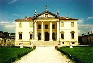 Giorgio Massari - Massari's Villa Cordellina Lombardi, built for Carlo Cordellina, Montecchio Maggiore, c 1735-60