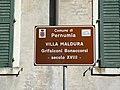 Villa Maldura Grifalconi Bonaccorsi, cartello turistico (Pernumia).jpg