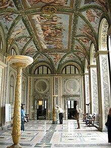 Loggia di psiche wikipedia for Decorazione stanze vaticane