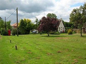 Claxton, North Yorkshire - Image: Village Green, Claxton, North Yorkshire