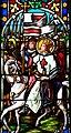 Villeréal - Église Notre-Dame - Vitrail du chevet - Registre inférieur -3.jpg