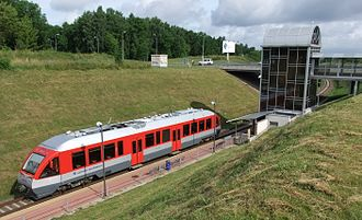 Vilnius Airport - Vilnius airport railway station