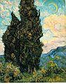 Vincent van Gogh Cypresses.jpg