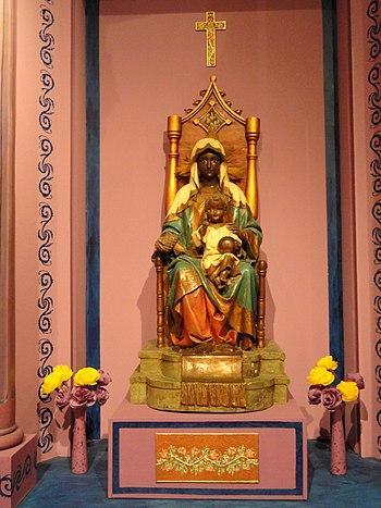 Virgen de La Monserrate - Museo de las Americas - San Juan%2C Puerto Rico - DSC06906