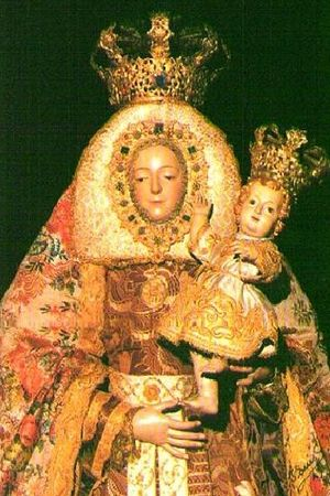 Virgin of Los Remedios - Virgin of Los Remedios, Patron Saint of the Roman Catholic Diocese of San Cristóbal de La Laguna (Tenerife, Spain).