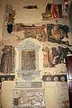 Vitale da bologna, resti di affreschi in san martino, con abramo, apostoli e dannati, 01.JPG
