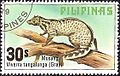 Viverra tangalunga 1979 stamp of the Philippines.jpg