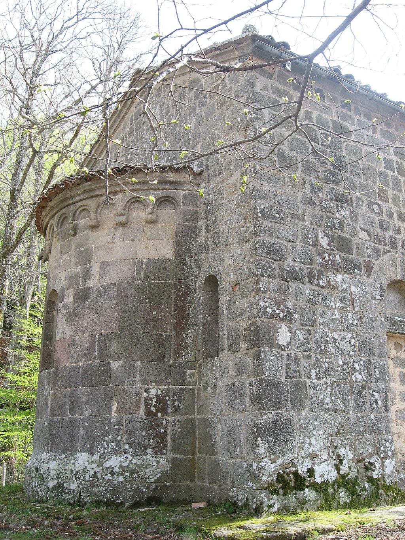 L'oratorio di San Bartolomeo, denominatoErmicciolo, abside, Vivo'Orcia