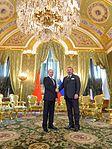 Vladimir Putin with Mohammed VI of Morocco (2016-03-15) 11.jpg