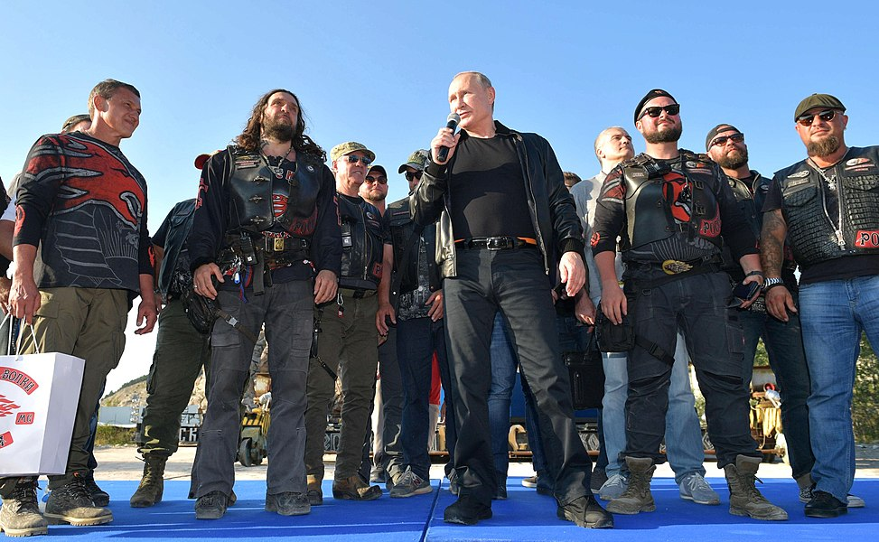 Vladimir Putin with Night Wolves Motorclub (2019-08-10) 8.jpg