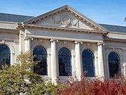 Vol Walker Hall, University of Arkansas (autumn)