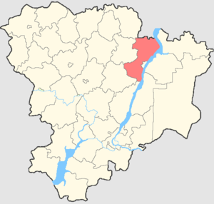Kamyshinsky District - Image: Volgogradskaya oblast Kamyshinsky rayon
