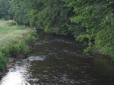La Vologne, rivière où a été découvert le corps de l'enfant.