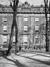 voorgevel van het voormalig logement van amsterdam -