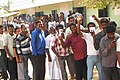 Voters in queue at a polling booth to cast their vote in the Tamil Nadu Assembly Election, at Chengalpattu constituency on April 13, 2011.jpg