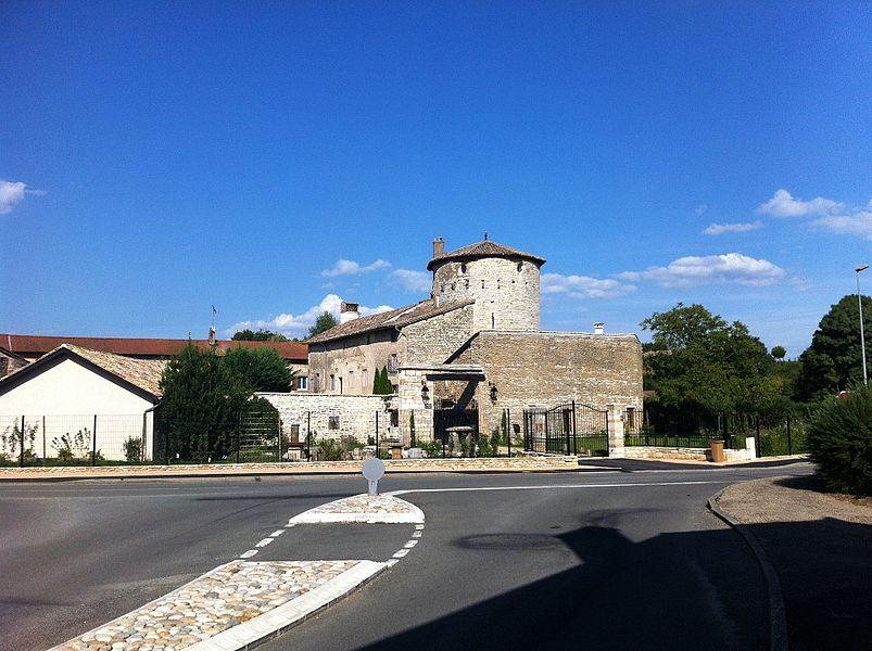 Vue du château suite travaux entrepris en 2013 (dégagement façade + débroussaillage végétaux)