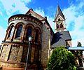 Wöllstein – kath. Kirche St. Remigius von Südost - panoramio.jpg