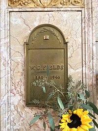 W. C. Fields Grave.JPG