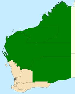 Mining and Pastoral Region Electoral region of the Western Australian Legislative Council