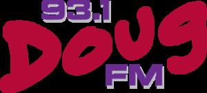 WDRQ - 93.1 Doug FM logo 2005-2013