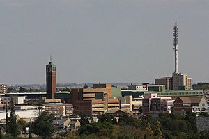 Welkom - Welkom's city center skyline