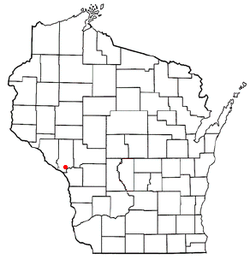 Location of Galesville, Wisconsin