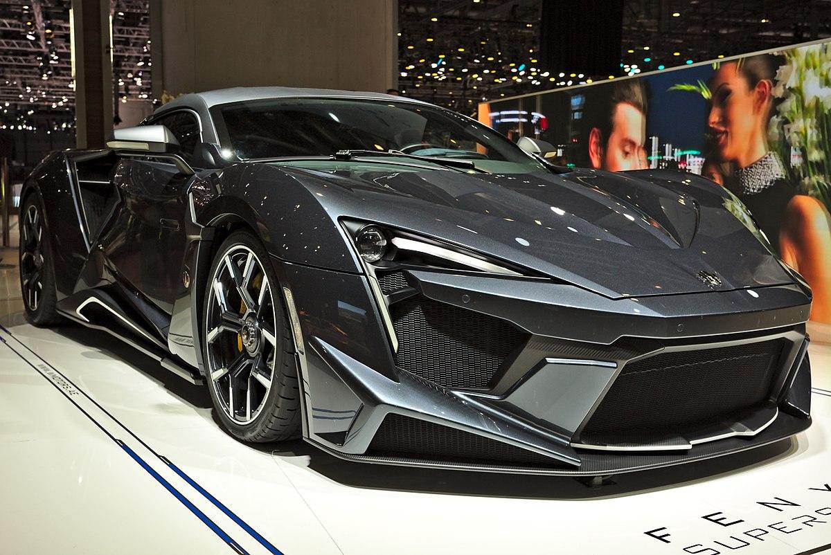 W Motors Fenyr >> W Motors Fenyr Supersport Wikipedia
