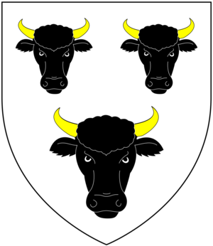 William Walrond, 1st Baron Waleran - Image: Walrond Arms