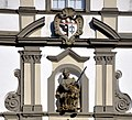 Wangen Rathaus Justitita Wappen.jpg